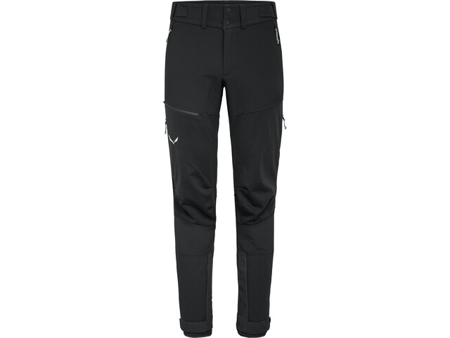 SALEWA Ortles 2 Windstopper Durastretch Pantalones Hombre, black out